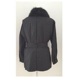 Yves Saint Laurent-Manteaux, Vêtements d'extérieur-Noir