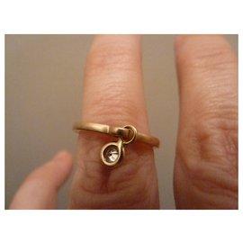 Dior-coquine 1 diamant or jaune-Autre