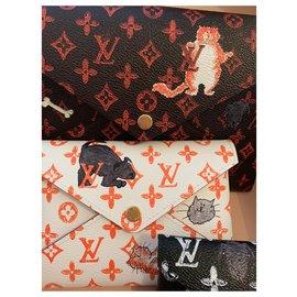Louis Vuitton-Kiragami Catogram-Brown