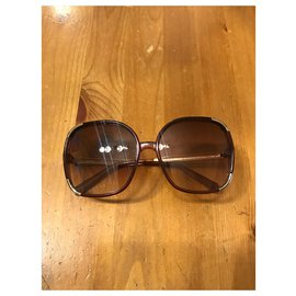Chloé-Sunglasses-Brown