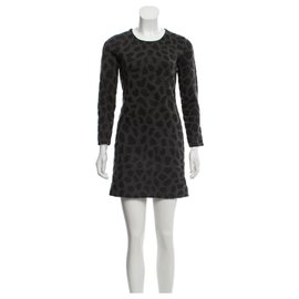 3.1 Phillip Lim-Wool dress-Grey,Dark grey