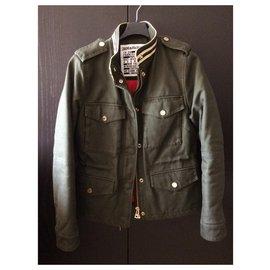Zadig & Voltaire-Coats, Outerwear-Khaki