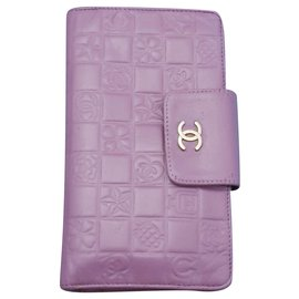 Chanel-Chanel wallet-Pink,Purple