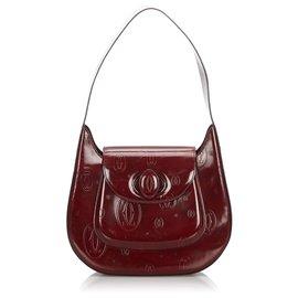 Cartier-Sac à bandoulière Cartier Joyeux anniversaire rouge-Rouge,Bordeaux