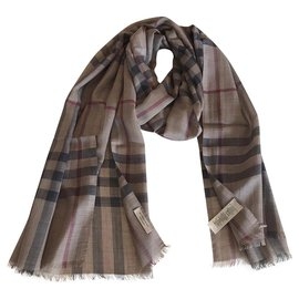 Burberry-STOLE BURBERRY-Brown