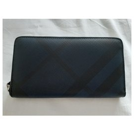 Burberry-Purses, wallets, cases-Black,Blue