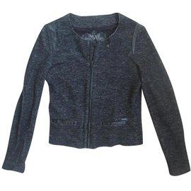 Ikks-Jackets-Grey