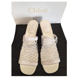 Chloé-Sandals-White
