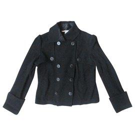 Diane Von Furstenberg-Jackets-Black