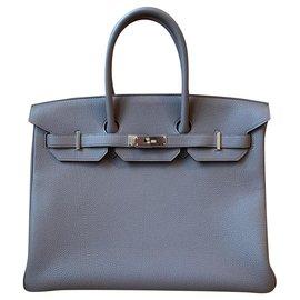 Hermès-HERMES BIRKIN 35-Grey