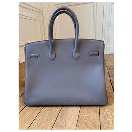 Hermès-Hermès Birkin 35-Gris