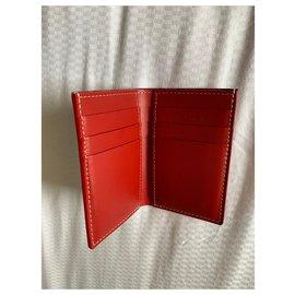 Goyard-Goyard card holder Saint Pierre-Red