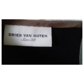 Dries Van Noten-Blouse en soie Dries Van Noten-Chocolat