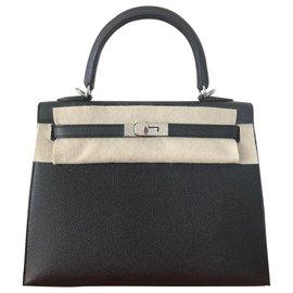 Hermès-Kelly 25-Noir
