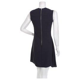Acne-Dresses-Navy blue