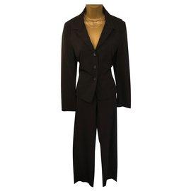 Strenesse-tailleur pantalon-Noir