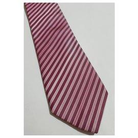 Hugo Boss-Cravates-Rose