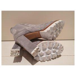 Nando Muzi-Ankle Boots-Grey