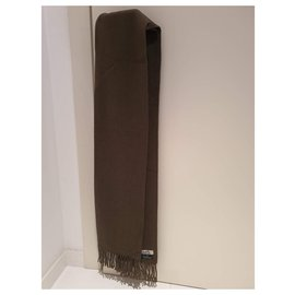 Hermès-Men Scarves-Brown