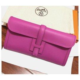 Hermès-Hermes Jige 29 in swift Magnolia-Pink