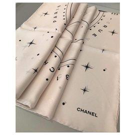 Chanel-Chanel scarf-Eggshell