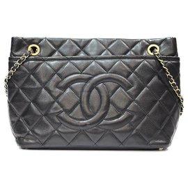 Chanel-SAC SHOPPING CHANEL-Noir
