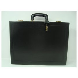 Christian Dior-Sacs Porte-documents-Noir