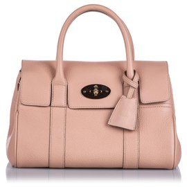 Mulberry-Mulberry Pink Small New Bayswater Satchel-Pink