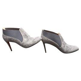 Christian Louboutin-Boots-Grey