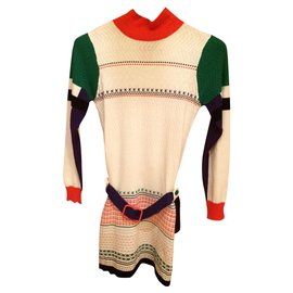 Kenzo-Robes-Multicolore