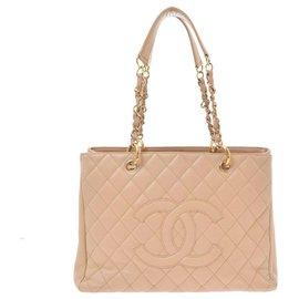 Chanel-Chanel Graffiti Shopping Tote-Beige