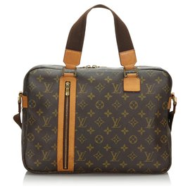 Louis Vuitton-Louis Vuitton Bosphore Sac Monogram Marron-Marron