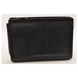 Burberry-Burberrys Check Pouch-Black