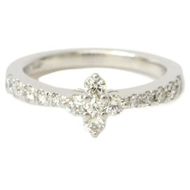 Mikimoto-Bague Mikimoto Diamant-Argenté