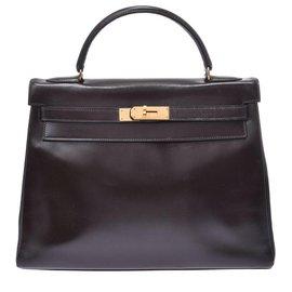 Hermès-Hermès Vintage Handbag-Black