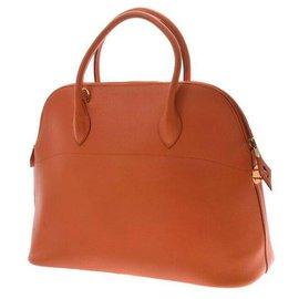 Hermès-Sac à main Hermès-Orange