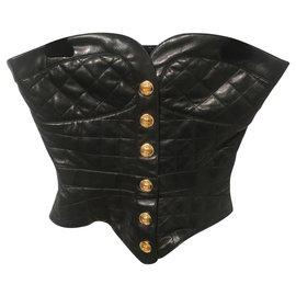 Chanel-Tops-Black,Golden