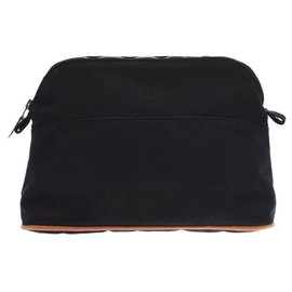 Hermès-Hermès Bored pouch MM goods-Black
