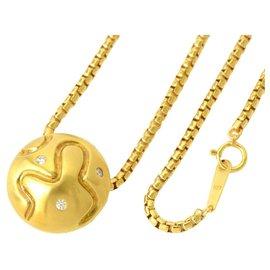 Céline-Céline Diamond Ruby Chain-Golden