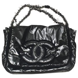 Chanel-Sacs à main-Noir,Gris anthracite