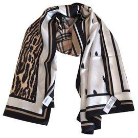 Burberry-STOLE BURBERRY-Leopard print