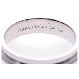 Tiffany & Co-TIFFANY & CO. Bague T-TWO-Blanc