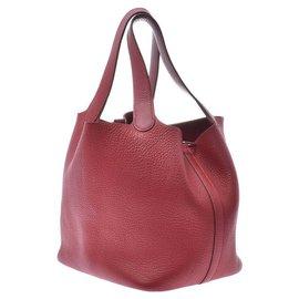 Hermès-Hermès Picotin-Rouge