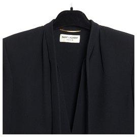Saint Laurent-MINIMAL BLACK FR36 HEDI SLIMANE-Noir
