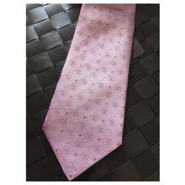 Louis Vuitton-Cravate Vuitton-Rose
