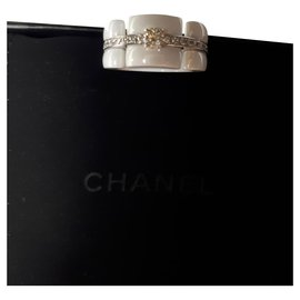 Chanel-ULTRA RING NEW NEVER WORN-White