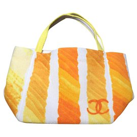 Chanel-Totes-Orange,Yellow