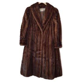 Sprung Frères-Mink coat Sprung Frères.-Brown