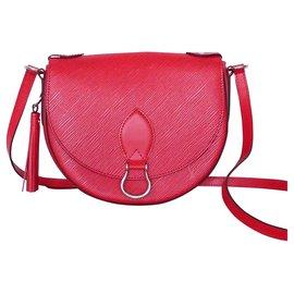 Louis Vuitton-LOUIS VUITTON SAC SAINT CLOUD EPI COQUELICOT-Rouge