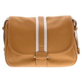Hermès-Hermès Boolean Lang Mutterd-Brown
